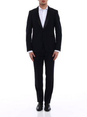 Z Zegna: dinner suits online - Turati shawl lapels wool tuxedo
