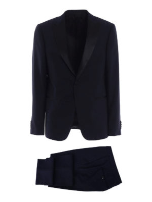 Z Zegna: dinner suits - Turati peak lapels wool tuxedo