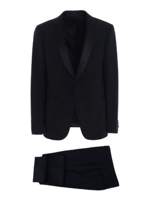 Z Zegna: dinner suits - Turati shawl lapels wool tuxedo