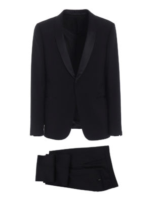 Z Zegna: dinner suits - Turati wool tuxedo