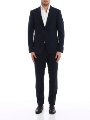 Z Zegna: formal suits online - Micro patterned wool blend suit