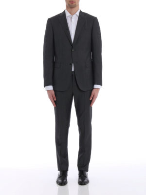 Z Zegna: formal suits online - Wool and mohair blend suit