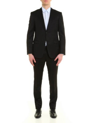 Z Zegna: formal suits online - Wool and mohair two-piece suit