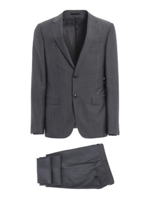 Z Zegna: formal suits - Turati grey wool and mohair suit