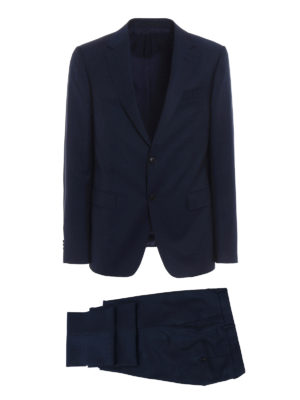 Z Zegna: formal suits - Wool and mohair blend crepe suit