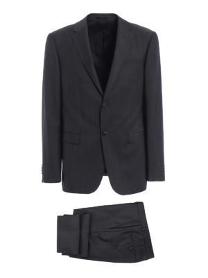 Z Zegna: formal suits - Wool and mohair blend suit