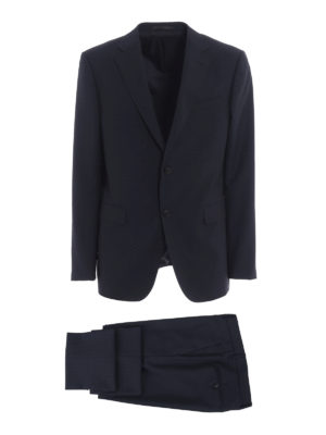 Z Zegna: formal suits - Wool and mohair two-piece suit