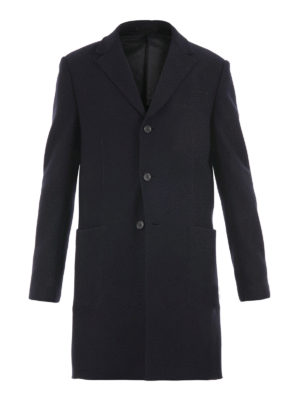 Z Zegna: knee length coats - Tailored wool coat