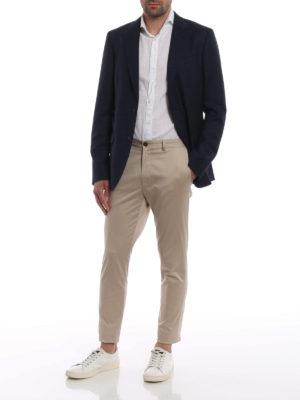 Z ZEGNA: giacche blazer online - Giacca in lana e viscosa jacquard