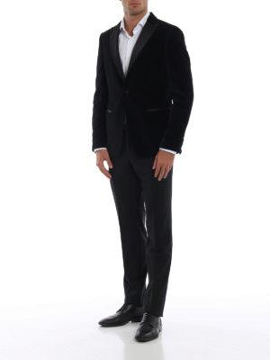 Z ZEGNA: giacche sartoriali online - Giacca da smoking Turati in velluto nero