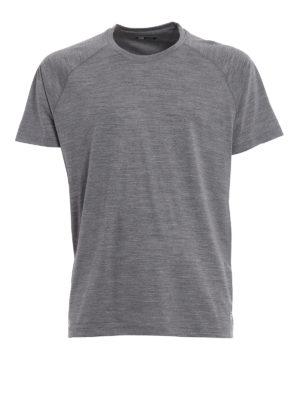 Z Zegna: t-shirts - Techmerino® wool T-shirt