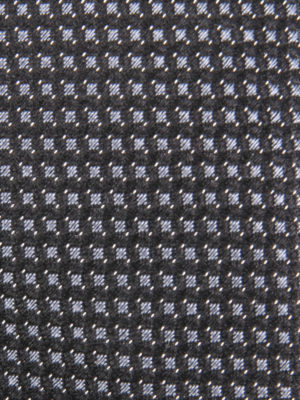 Z Zegna: ties & bow ties online - Micro patterned silk tie