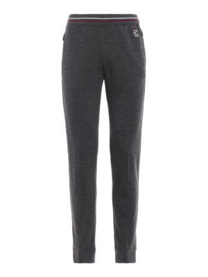 Z ZEGNA: pantaloni sport - Pantaloni Tech Merino in lana