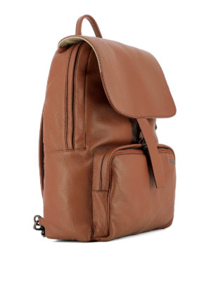 Zanellato: backpacks online - Ildo Dollarone leather backpack