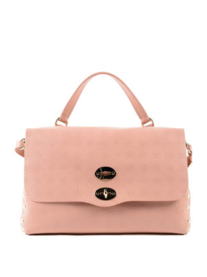 Zanellato: bowling bags - Light pink Astro Postina medium bag