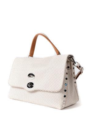 Zanellato: bowling bags online - Coated canvas Blandine M Postina