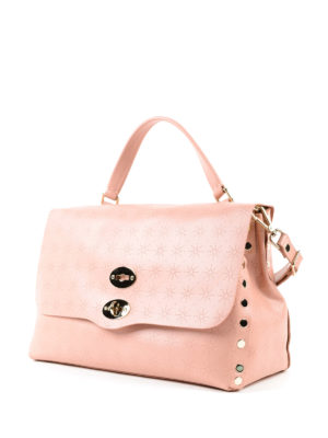 Zanellato: bowling bags online - Light pink Astro Postina medium bag