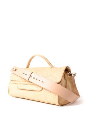 Zanellato: bowling bags online - Nina-Desert daffodil medium handbag