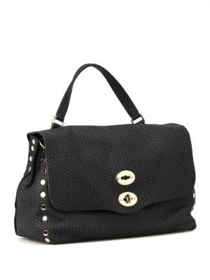 Zanellato: bowling bags online - Postina Arché medium black bag