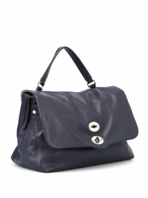 Zanellato: bowling bags online - Postina M+ Classic leather bag