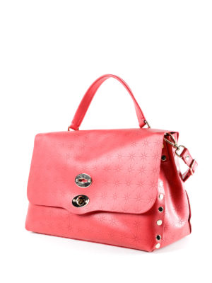 Zanellato: bowling bags online - Red Astro Postina medium bag