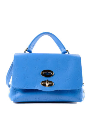 Zanellato: cross body bags - Light blue Astro Postina baby bag