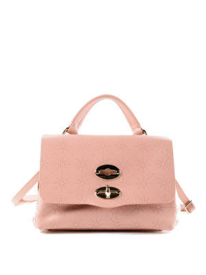 Zanellato: cross body bags - Light pink Astro Postina baby bag