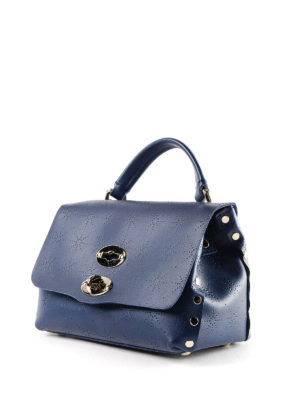 Zanellato: cross body bags online - Blue Astro Postina baby bag