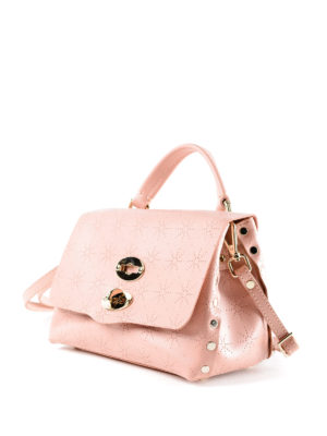 Zanellato: cross body bags online - Light pink Astro Postina baby bag