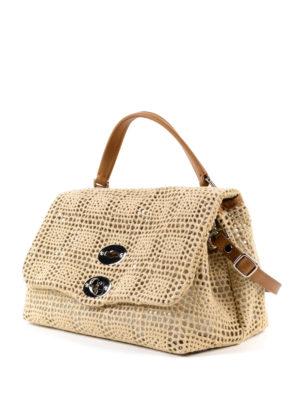 Zanellato: cross body bags online - Postina-Palamitara small beige bag