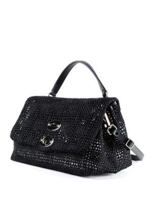 Zanellato: cross body bags online - Postina-Palamitara small black bag