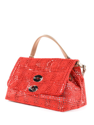 Zanellato: cross body bags online - Postina-Palamitara small red bag