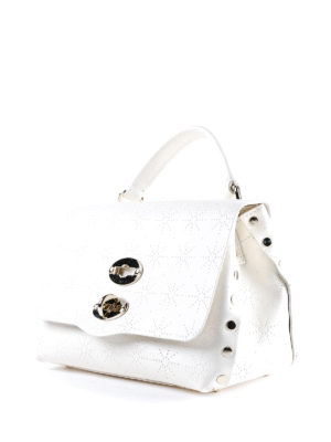 Zanellato: cross body bags online - White Astro Postina baby bag