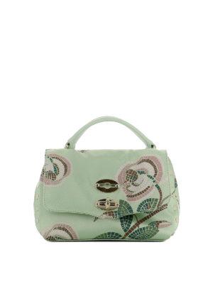 ZANELLATO: borse a tracolla - Postina Baby stampata verde