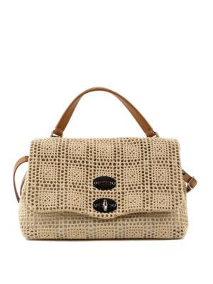 Zanellato: cross body bags - Postina-Palamitara small beige bag