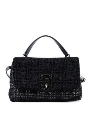 Zanellato: cross body bags - Postina-Palamitara small black bag