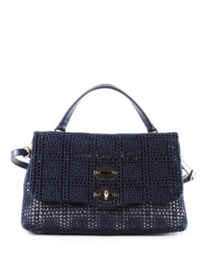 Zanellato: cross body bags - Postina-Palamitara small blue bag