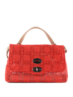 Zanellato: cross body bags - Postina-Palamitara small red bag
