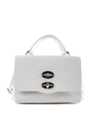 Zanellato: cross body bags - White Astro Postina baby bag