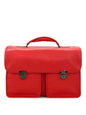 Zanellato: laptop bags & briefcases - Almirante Dollarone leather satchel