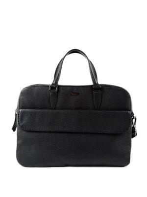 Zanellato: laptop bags & briefcases - Fredo Dollarone leather briefcase