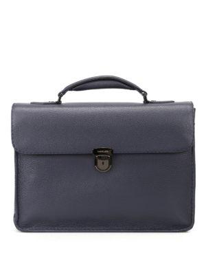 ZANELLATO: borse da ufficio - Ventiquattrore Mestro Dollarone blu