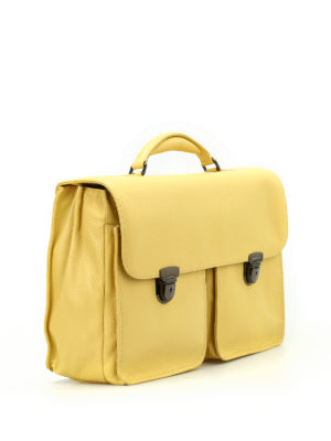 Zanellato: laptop bags & briefcases online - Almirante Dollarone leather satchel