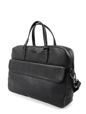Zanellato: laptop bags & briefcases online - Fredo Dollarone leather briefcase