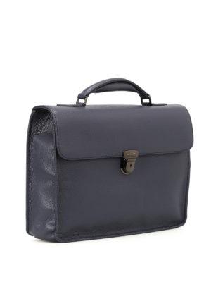 Zanellato: laptop bags & briefcases online - Mestro Dollarone blue briefcase