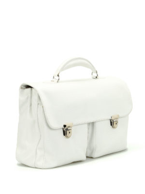 Zanellato: laptop bags & briefcases online - Zina full grain leather satchel
