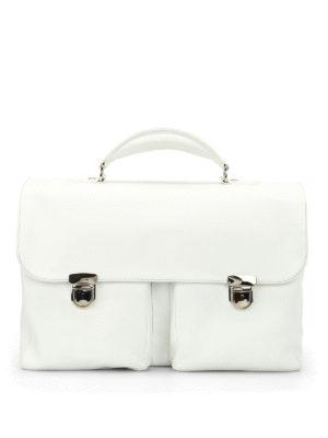 ZANELLATO: borse da ufficio - Cartella Zina in pelle pieno fiore