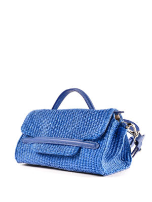 ZANELLATO: bauletti online - Borsa Nina Baby Fiascaia blu