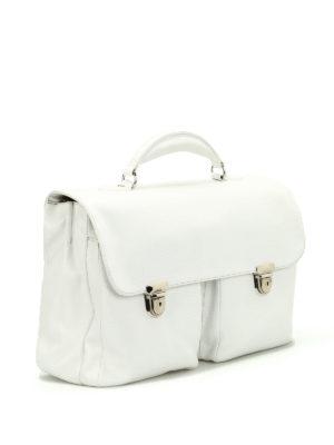 ZANELLATO: borse da ufficio online - Cartella Zina in pelle pieno fiore