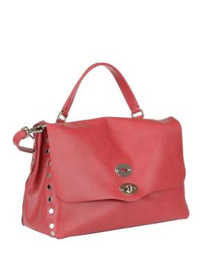 ZANELLATO: shopper online - Postina M Original Silk carminio